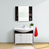 VOVSIMBLE 2017 New design bathroom cabinet free standing vanity cabinet