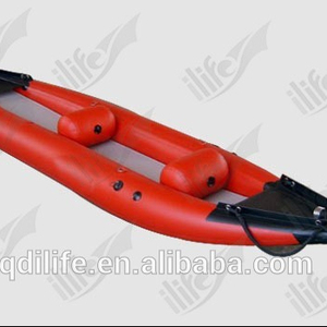 Full PVC Fishing Inflatable Used Wholesale Canoe With Motor