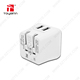 UL Listed Foldable Plug 5V 2.4A Dual USB Travel Wall Charger 2 Port USB Hub