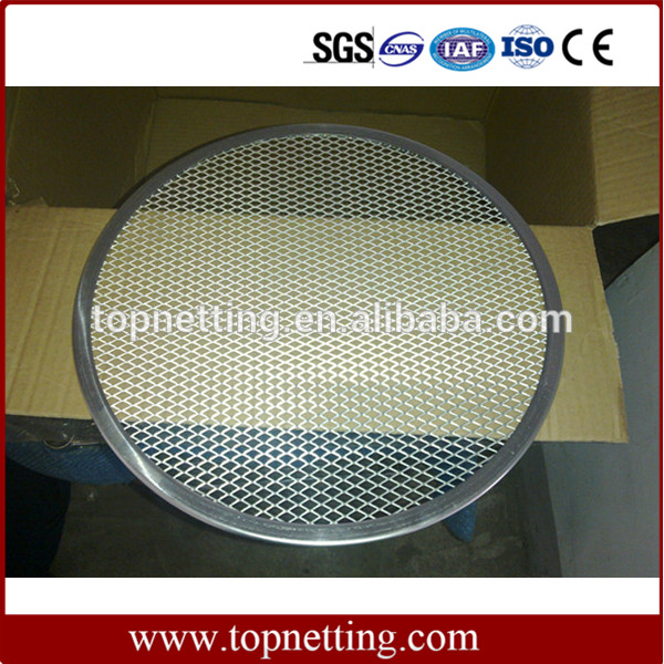 Round Hole Perforated Metal Screen/Expanded Metal Mesh/Perforated Pizza Tray