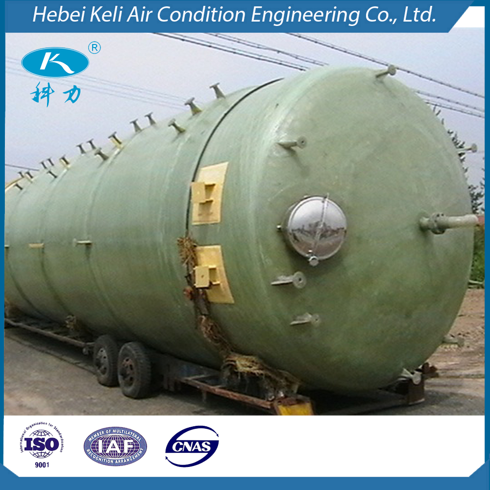 Customized capacity GRP/ FRP/GRE tank factory providers with ISO CE certification