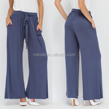 473a0762145 Factory price cheap malaysia style women plus size soft comfy casual  palazzo pants online shopping china