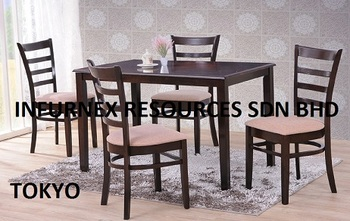 Dining Set Malaysia Furniture Table Room Wood Chair