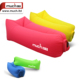 Outdoor sports inflatable air lounge sofa bed, nylon camping airbed