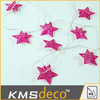 festival decoration lights star shape led string lights outdoor and indoor