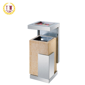 Stainless Steel Floor Cigarette Bin