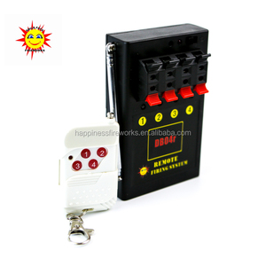 Happiness DB04r-4s CE passed pyrotechnic 4 cues Remote Control Fireworks Firing System