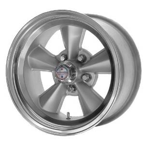 American Racing Custom Wheels VNT70R Gunmetal Wheel With Polished Lip (17x9/5x120.7mm, 0mm offset) by American Racing