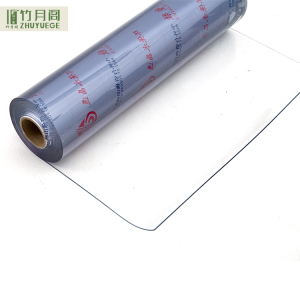 Transparent Soft PVC Films Plastic Clear Film Roll For Packaging/Printing