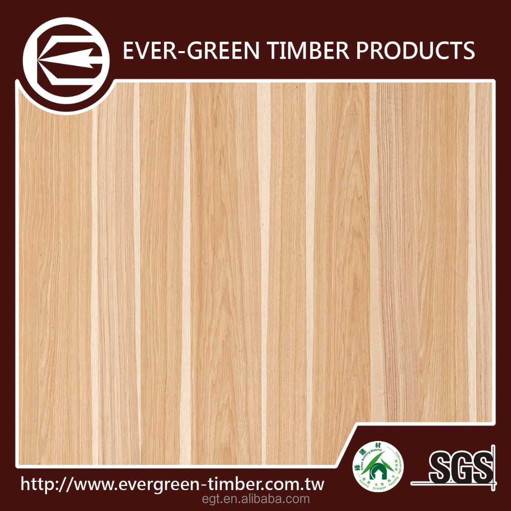 taiwan high-quality hickory hardwood flooring for 4x8 plywood