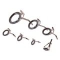 7 Size Vintage Oval Fishing Tips Rod Guides Ring Stainless Pole Repair Kit New Arrival