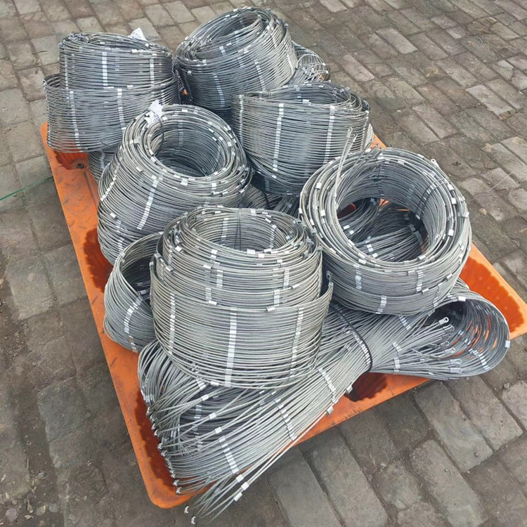 7x7 7x14 Stainless Steel Wire Rope Mesh / Cable Mesh