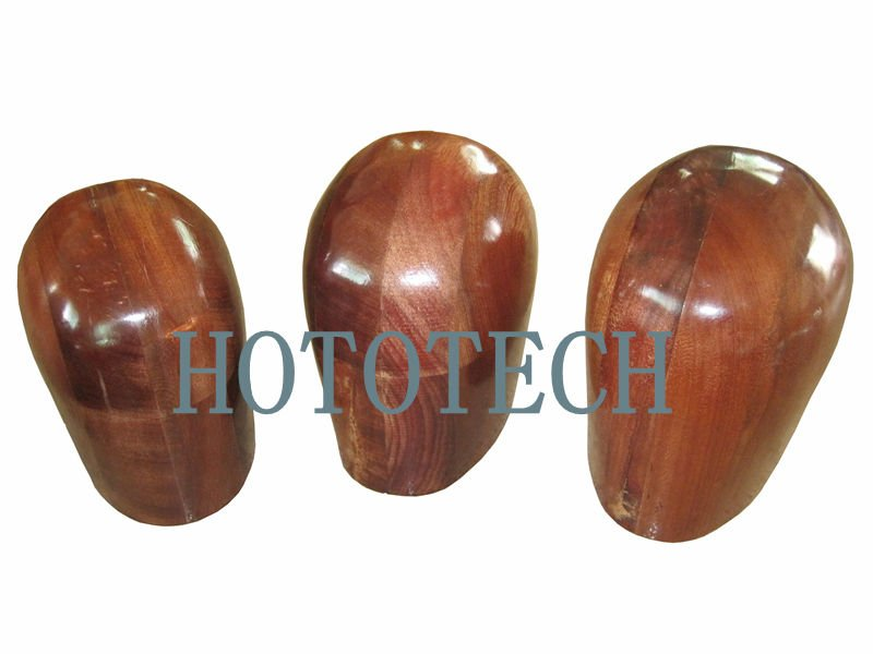 Rosewood Head Form for Helmet