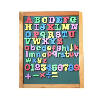 educational kids magnetic letters numbers whiteboard fridge magnet