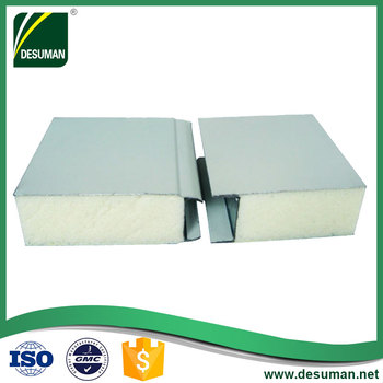 DESUMAN cheap price hospital fireproof pu wall sandwich panel