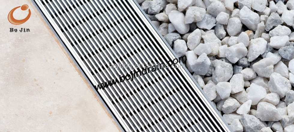 stainless steel wedge wire grate and channel drain/floor drain grate/trench drain grate