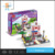 Best sell diy sets playing funny toy building bricks with house model