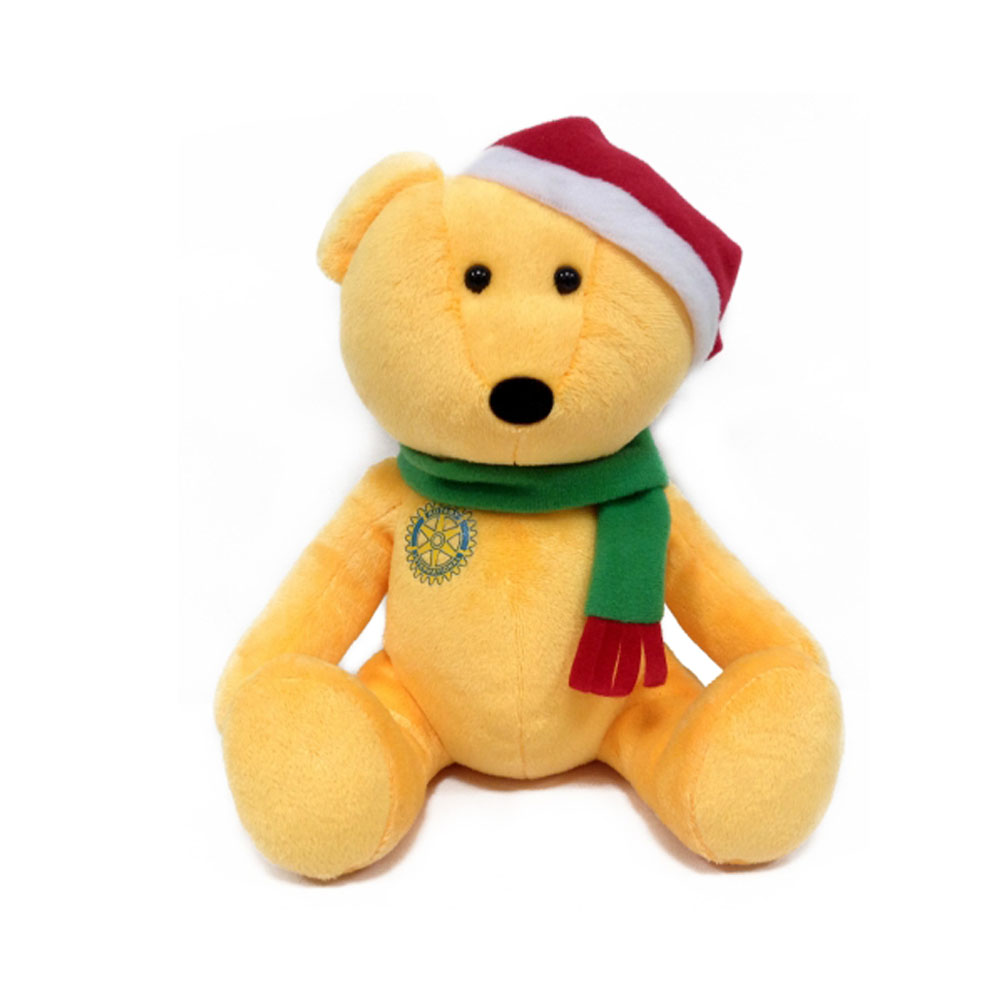 Yellow Teddy Bear With Plush Toy Best Selling Christmas Gifts