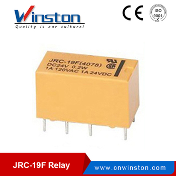JRC-19F (4078) general pcb relay mini pcb relay 3v