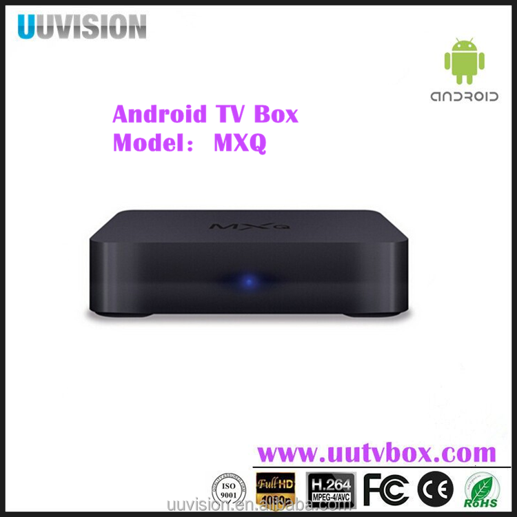 UUvision MXQ-4K-TV Box Amlogic S805 1+8GB support 4K, Youtube, IPTV subscription live channels