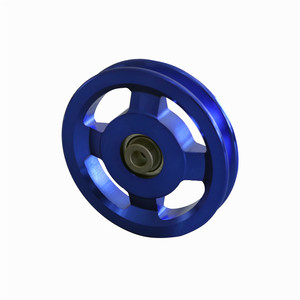 gym aluminum pulley in gym equipment spare parts names, aluminum pulley price