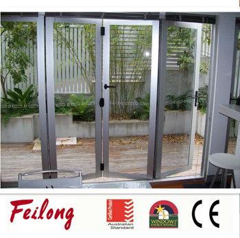 nz buy bi fold door as2047 aluminum glass folding door product on