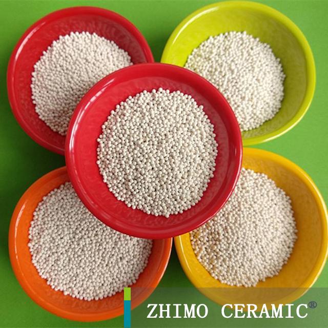 65% zirconium zirconia silicate 6mm ceramic ball / beads