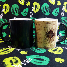 11oz Sublimation Decal Color Change Ceramic Mug Manufacture/White color Coffee Cups made in china
