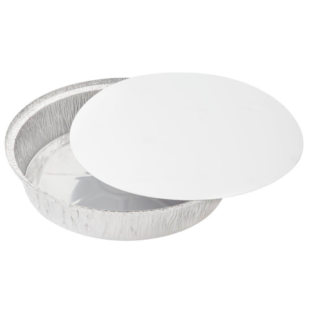 Get Quotations  C2 B7 Sherri Lynne Home Round Pans 9 Disposable Aluminum Foil Pans With Board Lids