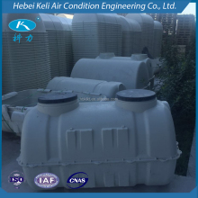Long life moulded GRP septic tank underground tank