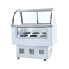 China Manufacturer Commercial 8 Pans Ice Cream Display Freezer For Sale