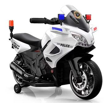 2020 New police motorcycle battery operated kids car toy with alarm light