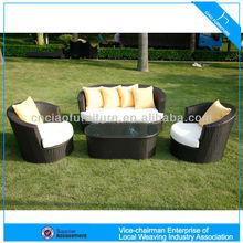 u de aluminio outdoor muebles sof barato