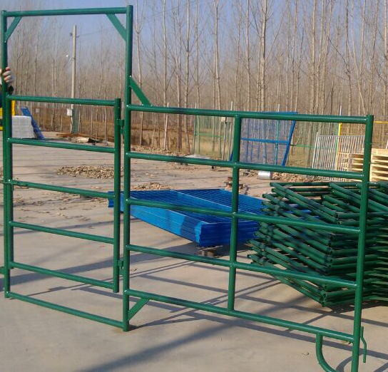 Powder Coating Security Cattle Fence Panels