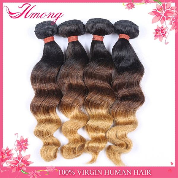1B 27 Ombre Color Hair Fusion Extension Ombre Color Hair Extensions Two Tone Ombre Colored Hair Weave Bundles