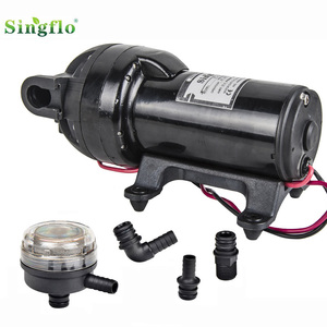 Singflo FL-200 high volume 200psi diaphragm pumps apply in agricultural irrigation / general industrial