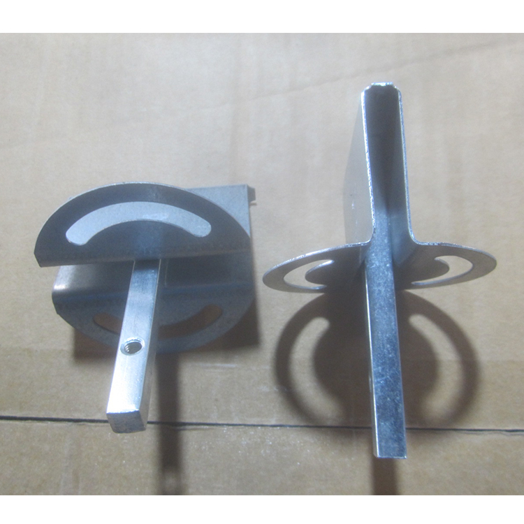 Customized size galvanized steel round quadrant