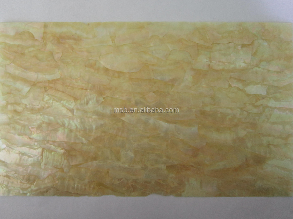 Flexible Yellowlip Shell Laminatfolie Furnier, furnier Trägerpapier