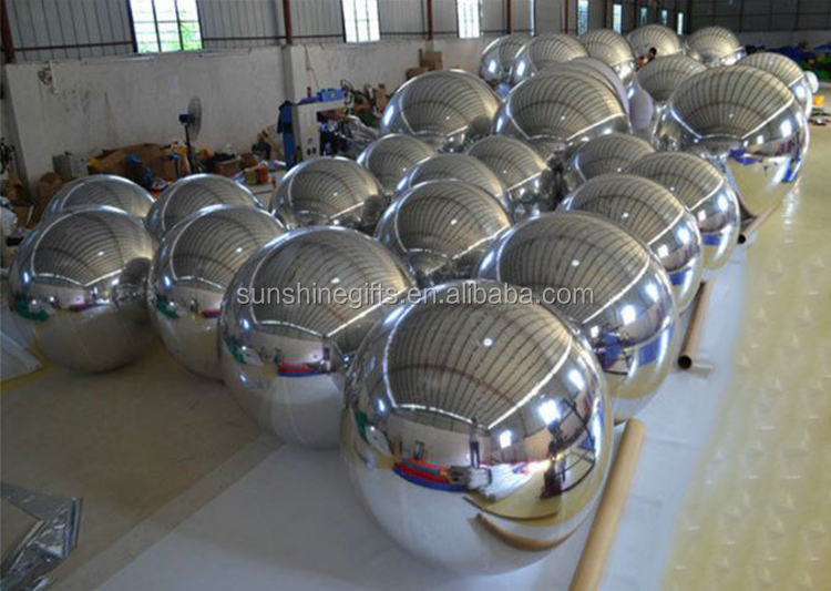 Factory Outlets Decorative Gold Mirror Disco Ball 100cm
