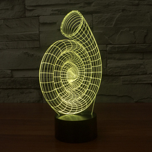 FS-2909 led light night project 3d illusion with amazing gift