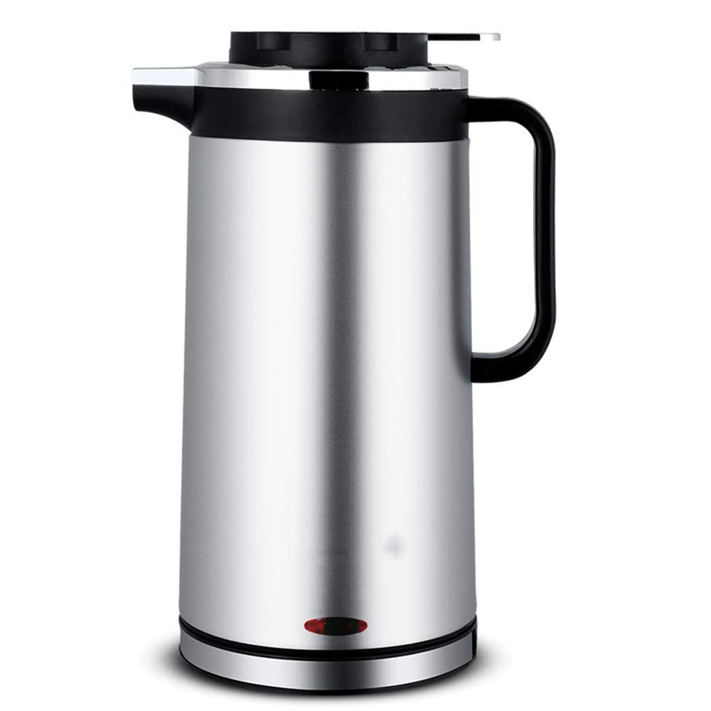 Electric Kettle Home Insulation 1.8L Stainless Steel Waterproof Base (Color : B)