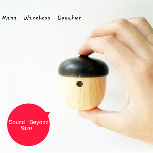 Nuts Speakers Mini Stereo Portable Wireless Creative Outdoor Car Phone Sub Woofer With Amplifier