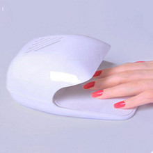 New Mini Nail Dryer Dry Battery Nail Clipper Air Dryers Electric Blower Heater Gel Curing Nails