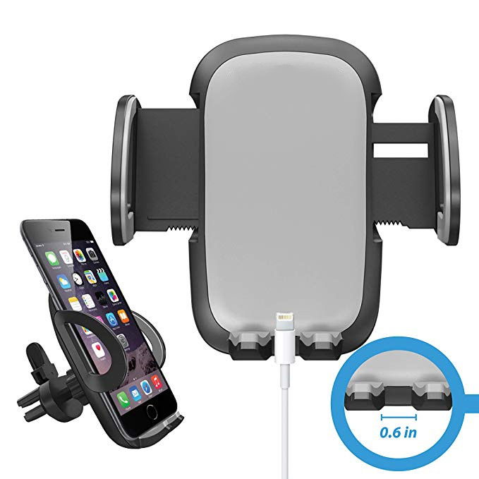 Universal Smartphone Car Air Vent Mount Holder Cradle for iPhone XS XS Max XR X 8 8 Plus 7 7 Plus SE 6s 6 Plus 6 5s 4 Samsung
