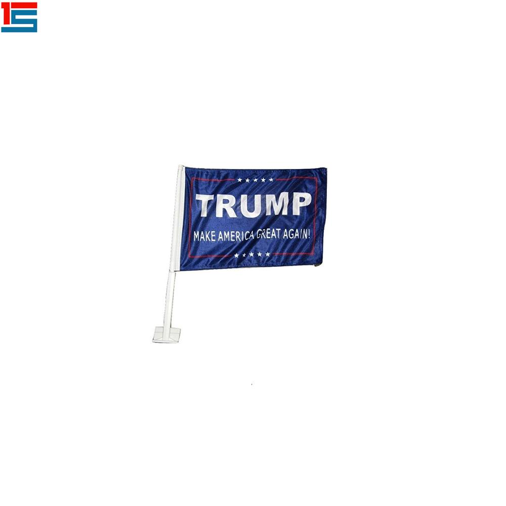 2020 USA election president flags Donald Trump car flags