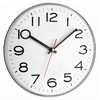 Stylish european fashion simple metal white wall clock