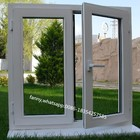 Vinyl Storm Impact Hand Crank French Casement Window