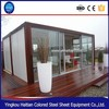 2016 pop hot sale china modern european style villa prefab kit house modular home villa