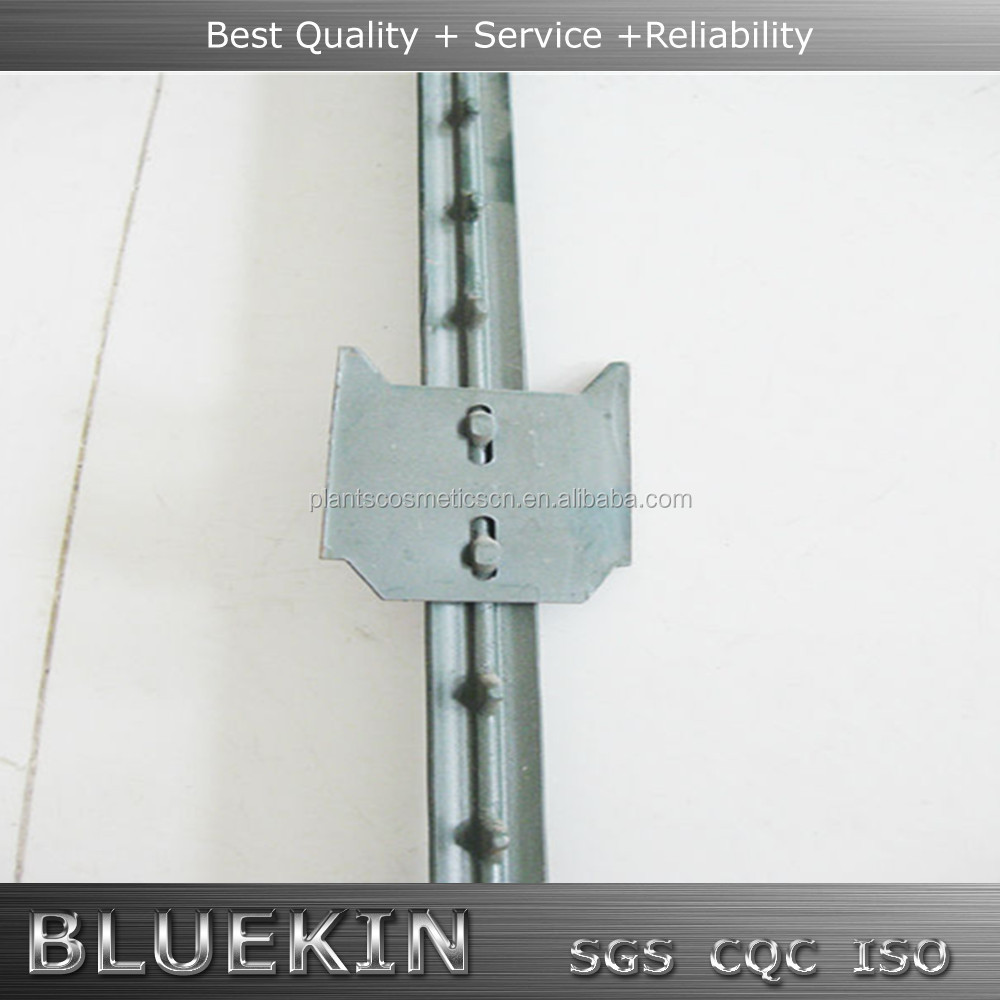 Metal T Post galvanized spade fence studded t post spade, galvanized spade