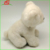 High quality white polar bear stuffed plush animal toy